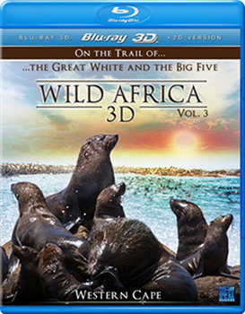 Wild Africa 3D - Part 3 (3Dblu-Ray) (DVD)