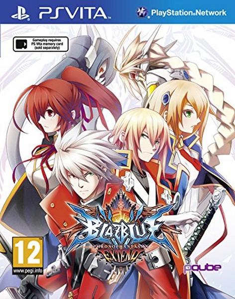 BlazBlue: Chrono Phantasma Extend (Playstation Vita)
