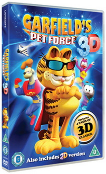 Garfield Petforce 3D (DVD)