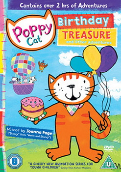 Poppy Cat - Buried Treasure And Other Stories (DVD)
