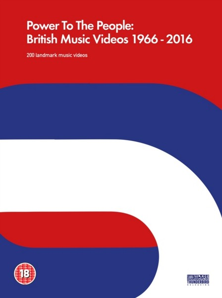 Power To The People: British Music Videos 1966 – 2016 [DVD] [2017]