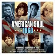 Various Artists - American Soul 1960 [Double CD] (Music CD)