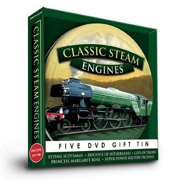 Classic Steam Engines (DVD)
