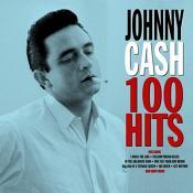 Johnny Cash - 100 Hits [4CD Box Set] (Music CD)