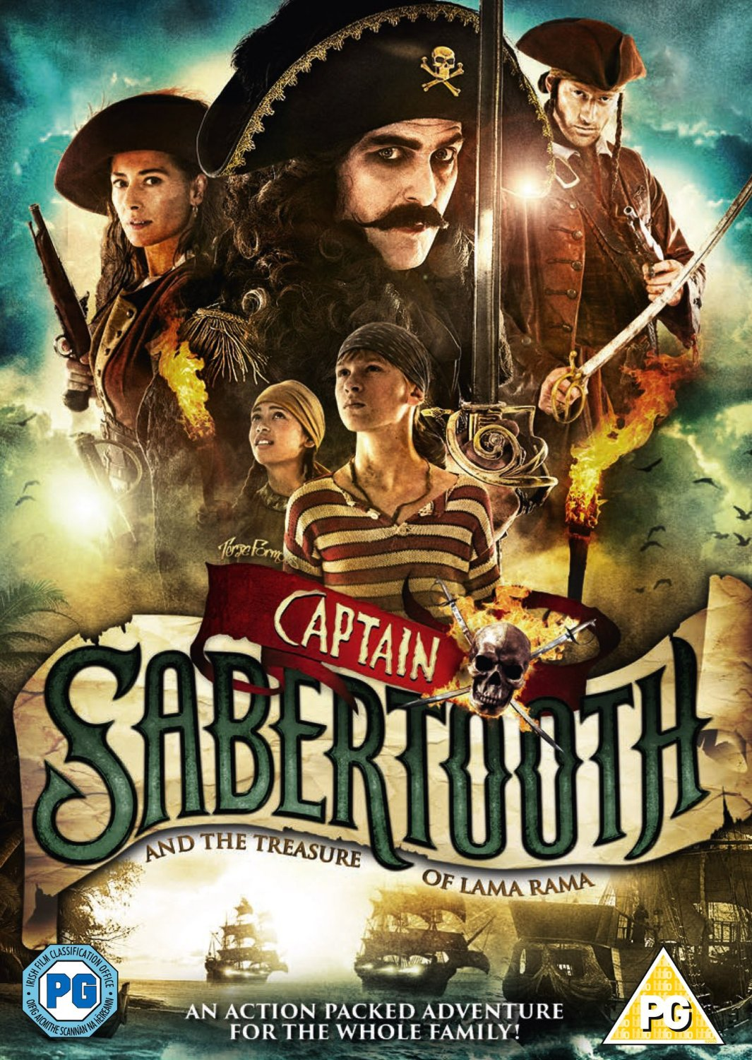 Captain Sabertooth And The Treasure Of Lama Rama (DVD)