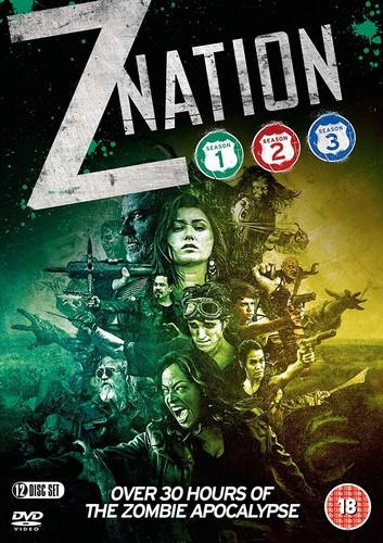 Z Nation: Season One  Two & Three (DVD)