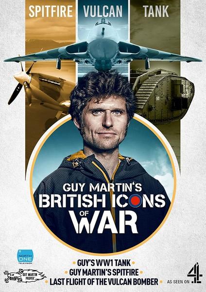 Guy Martin's British Icons of War (Spitfire  Vulcan Bomber & WW1 Tank) [DVD]