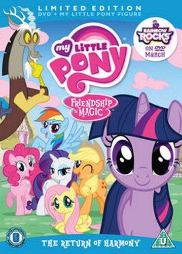 My Little Pony Season 2 - Volume 1 -  The Return Of Harmony - Limited Edition (DVD)
