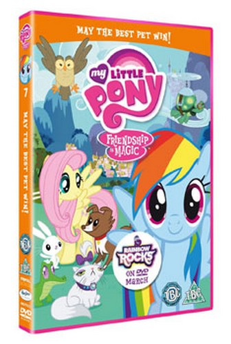 My Little Pony Season 2 - Volume 2 - May The Best Pet Win!  (DVD)