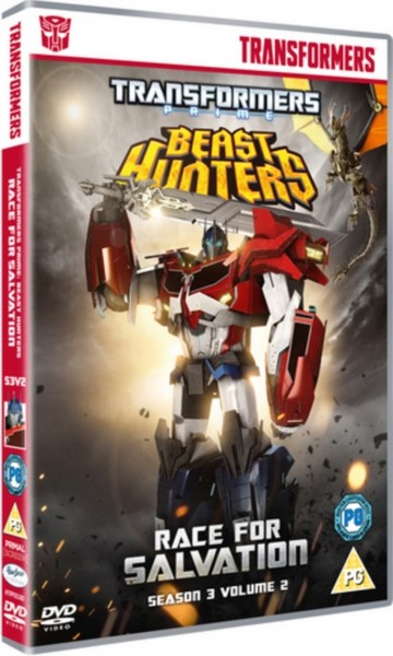 Transformers Prime Season 3 Beast Hunters - Race For Salvation (DVD)