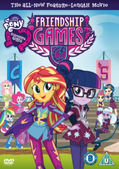 My Little Pony: Equestria Girls - Friendship Games (DVD)