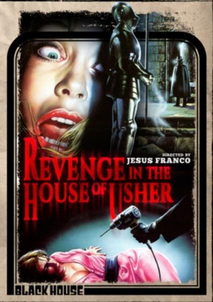 Revenge In The House Of Usher (DVD)