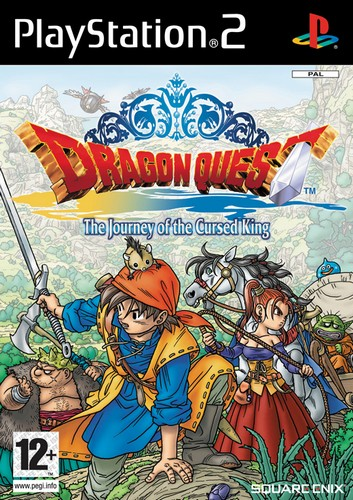 Dragon Quest: Journey of the Cursed King (PS2)