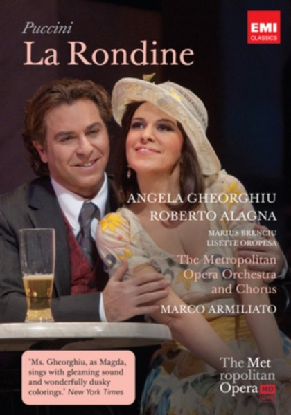 Giacomo Puccini - La Rondine - Live From The Met (DVD)