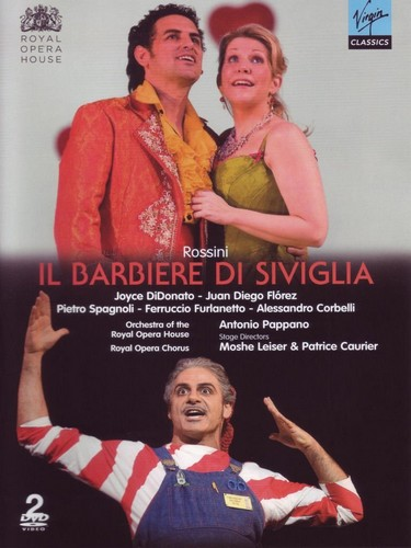 Gioachino Rossini - Il Barbiere Di Siviglia (Royal Opera House  Covent Garden 2008) [2010] [Ntsc] (DVD)