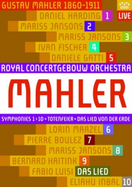 Mahler-symphonies  Das Lied  Totenfeier (Blu-Ray)