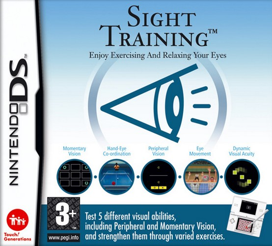 Sight Training - Enjoy Exercising And Relaxing Your Eyes (NDS)