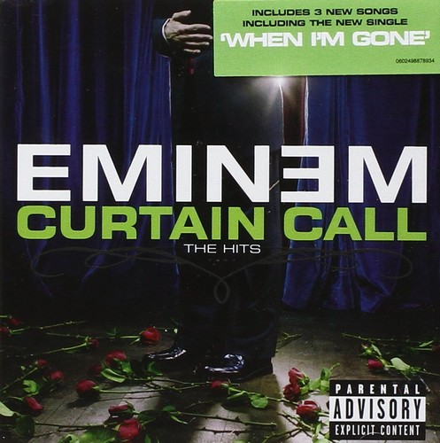 Eminem - Curtain Call - The Greatest Hits (Music CD)