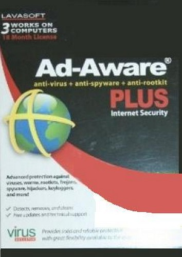 Lavasoft Ad- Aware Plus Internet Security (PC)