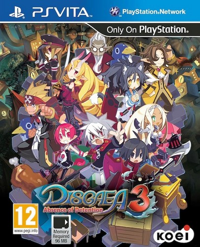 Disgaea 3 Absence of Detention (Vita)