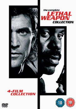 Lethal Weapon : The Complete Collection (4 Disc Box Set) (DVD)
