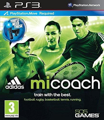 Adidas miCoach - Move Required (PS3)