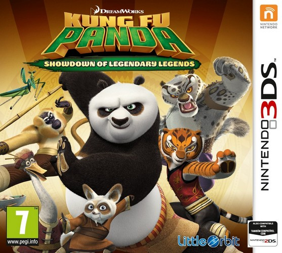 Kung Fu Panda: Showdown of Legendary Legends (Nintendo 3DS)