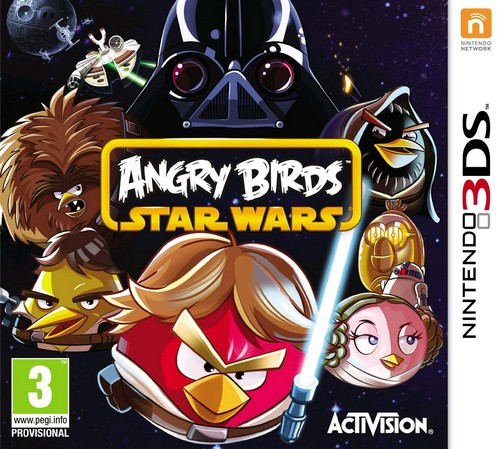 Angry Birds: Star Wars (Nordic box but EFIGS in Game) (3DS)