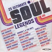 Various Artists - 25 Ultimate Soul Legends (Music CD)
