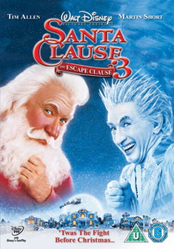 Santa Clause 3 : The Escape Clause (2006) (DVD)