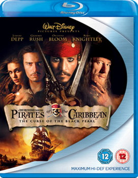 Pirates Of The Caribbean - The Curse Of The Black Pearl (Blu-Ray)