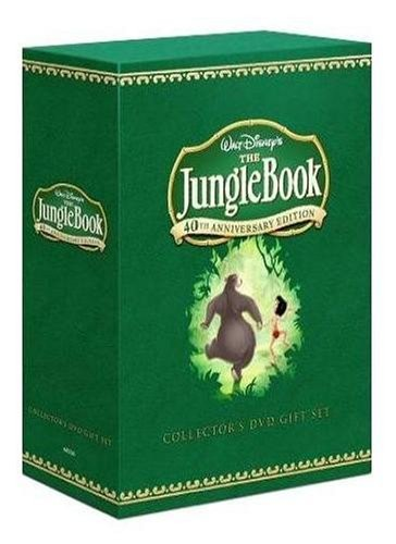The Jungle Book: Deluxe Edition (DVD and Book)
