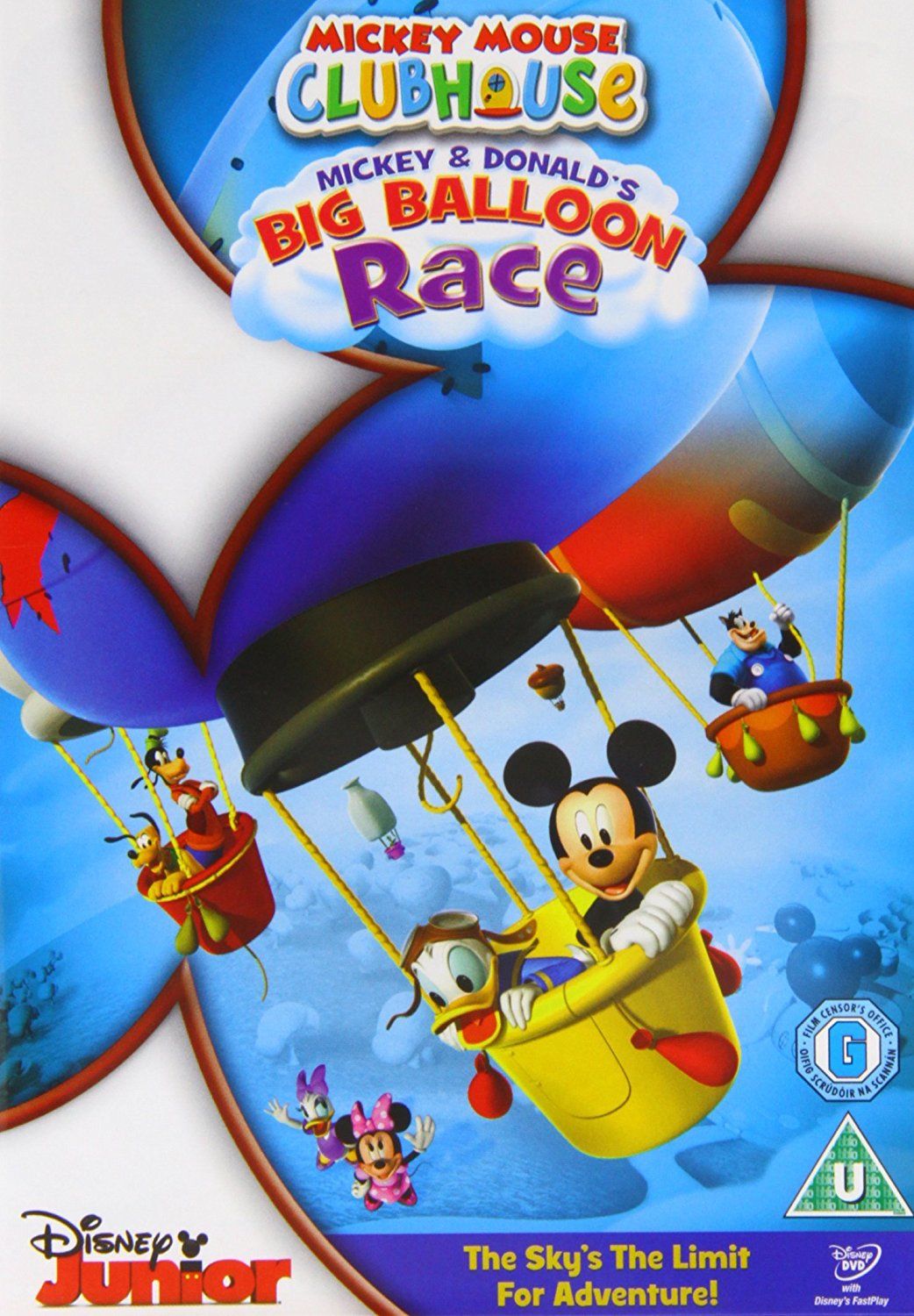 Mickey Mouse Clubhouse: Mickey And Donald'S Big Balloon Race (DVD)