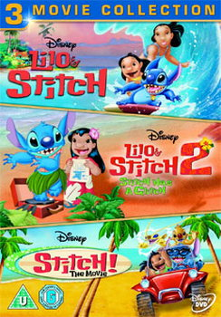 Lilo And Stitch Collection - Lilo And Stitch / Lilo And Stitch 2 / Stitch! - The Movie (DVD)