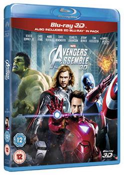 Marvel Avengers Assemble (Blu-ray 3D + Blu-ray)