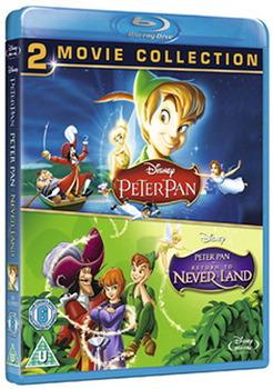 Peter Pan / Peter Pan - Return To Never Land (Blu-Ray)