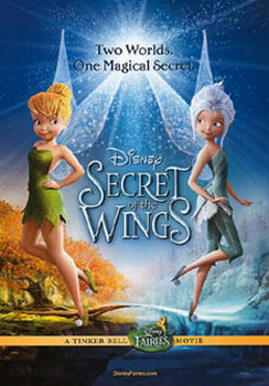 Tinker Bell & The Secret Of The Wings (DVD)