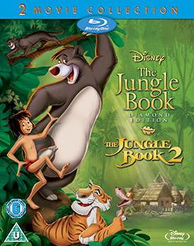 The Jungle Book 1 and 2 Boxset (Blu-ray)