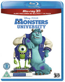 Monsters University (Blu-ray 3D + Blu-ray)