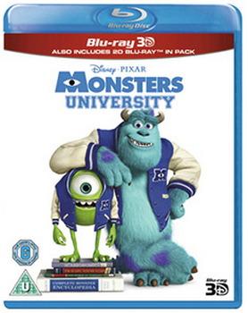 Monsters University (Blu-ray 3D + Blu-ray)