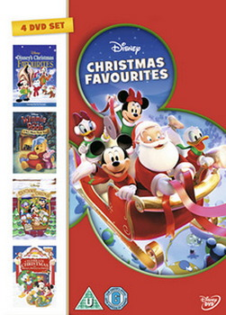 Disney Christmas Favourites 4Dvd Box Set (Winnie The Pooh- A Very Pooh Year  Countdown To Xmas  Celebrate Xmas With Mickey  Disney Xmas Favourites) (DVD)