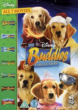 Super Buddies 7 Movie Boxset Dvd (Air  Snow  Space  Santa Buddies  Treasure  Spooky & Super Buddies) (DVD)