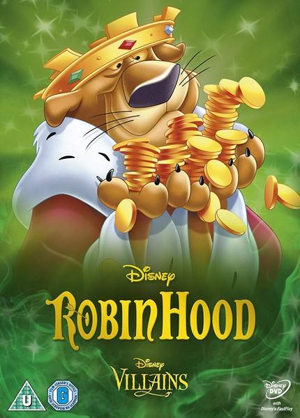 Robin Hood (1973) (Special Edition Artwork Sleeve) [DVD]
