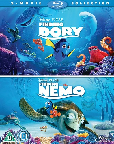Finding Dory/ Finding Nemo Double Pack (Blu-ray)