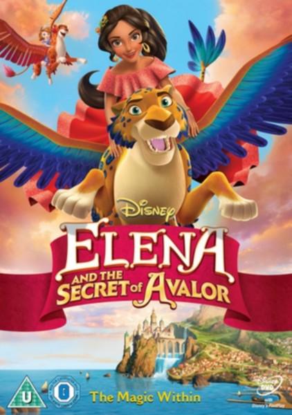Elena & the Secret of Avalor [DVD]