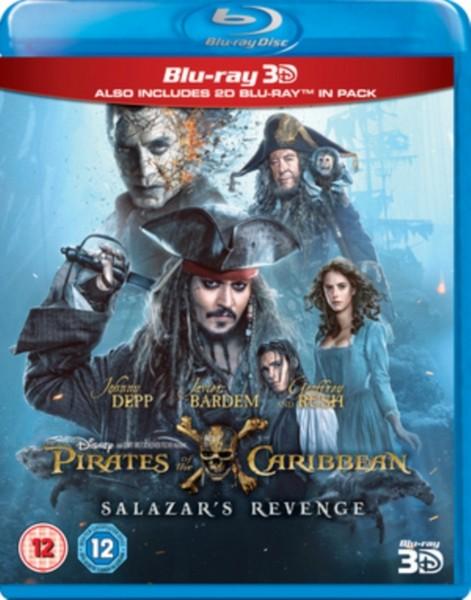 Pirates of the Caribbean: Salazar's Revenge (3D)  [2017] [Region Free] (Blu-Ray)
