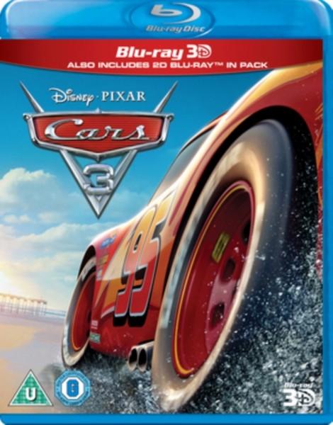 Cars 3 [Blu-ray 3D] [2017] (Blu-ray)