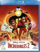 Incredibles 2 (Blu-ray) (2018) (Region Free)