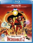 Incredibles 2 (3D + Blu-ray) (2018) (Region Free)