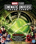 Marvel Studios Collector's Edition Box Set - Phase 3 Part 1 (Blu-ray) (2018) (Region Free)